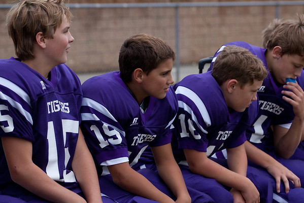 Darlington Middle School Football vs Armuchee Oct 2011