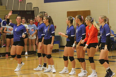 Darlington @ Mineral Point Volleyball 8-28-18