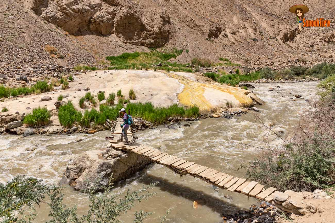Darshai Gorge ที่ Darshai Tajikistan ทาจิกิสถาน