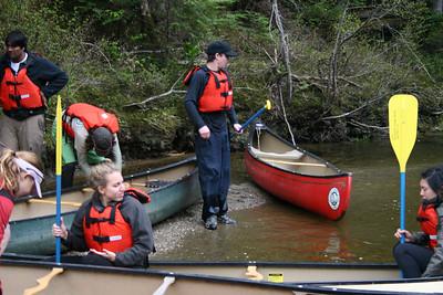 Intro WhiteWater Canoe Weekend