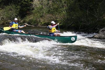 Whitewater Canoeing PE Shots