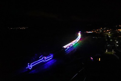 Train of Lights at Waterside