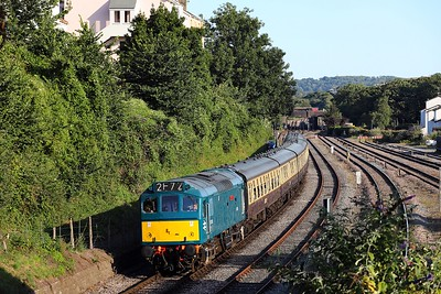 D7535 Goodrington sidings