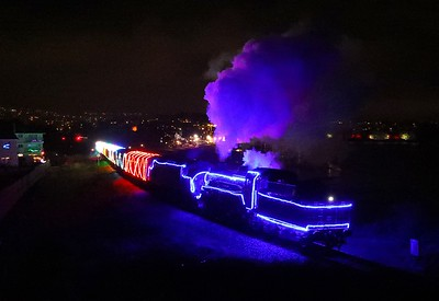 75014 37275 Goodrington 'Train of Lights'