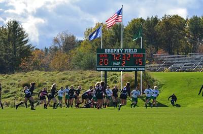 Dartmouth Women's Rugby vs Harvard - Oct 2015