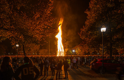 The Blaze of Homecoming Friday