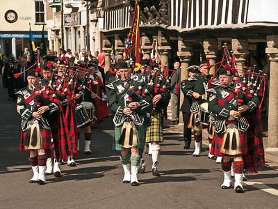 Dartmouth - Scottish Pipers