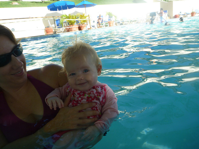 okay, maybe I like this swimming thing!