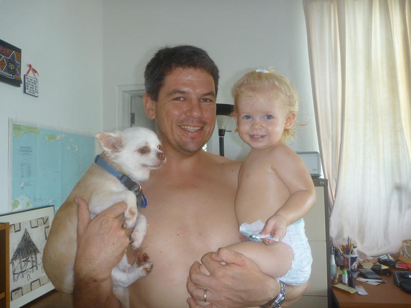 Daddy's girls!!!