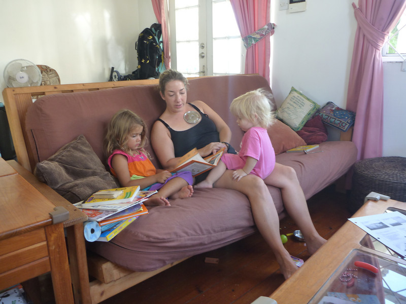 Reading with Darwin and Bella