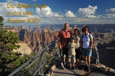 Die Familie Novak in den USA