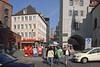 """Es war ein ganz allgemein gehaltener Wunsch von Ilse, einmal München zu besuchen, das sie noch nicht kannte. Wir (Susanna und Hans) haben ihr diesen Wunsch zum 75er erfüllt. Hier das Zentrum der Stadt mit einem Blick vom """"Tal"""" auf die Frauenkirche, rechts das Alte Rathaus (nach 1945 wiederaufgebaut)"""