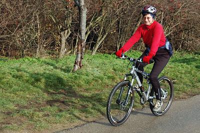 Susanna und ihr neues Bergrad !!