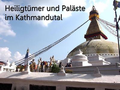 Heiligtümer und Paläste im Kathmandutal