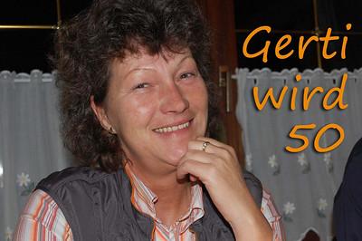 Gerti wird 50