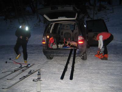 Skitouren, Wanderungen