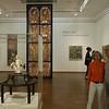 Im Fokus des Sammlerehepaar Leopold  stand die österreichische Kunst um 1900.  Man findet hier gute Stücke  aus den Wiener Werkstätten wie hier ein Skulptur Michael Powolnys (1877-1954)