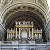 Die Orgel der Basilika ist ein Werk Ludwig Mosers, der 1863 seine Werkstätte von Salzburg nach Eger verlegt, weil er vermehrt Aufträge aus Ungarn erhalten hatte. Am 19. September 1854 wurde die Orgel begonnen, die Fertigstellung dauerte bis zum 31. August 1856, dem Tag der Einweihung der Kathedrale.