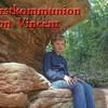 Der liebe Vincent hat am 23.April Erstkommunion ! Da darf natürlich auch die österreichische Verwandtschaft nicht fehlen.