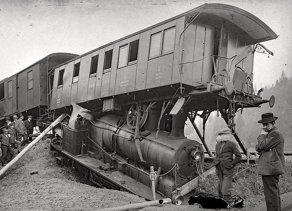 141a Willisau Zugunglück 20 März 1923