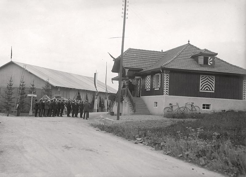 031c Ettiswil Schützenfest um 1921
