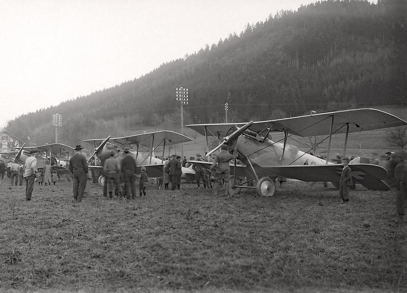143c Ettiswil Flieger um 1922