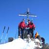 Auf dem Gipfel der Wildspitze (5.April 2007)