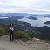 Wanderung im Seengebiet von Bariloche (23. Februar 2006)