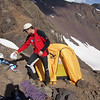 (6.Februar 2006) Hochlager am Cerro Morado, ca. 4500m (Chile)