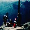 21. Juli 1983 Mit Papa Christian am Gipfel