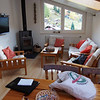 Das ist das Wohnzimmer unseres schönen Quartiers, in das bald Hans und Dominique einziehen werden, schon wegen der umfassenden Aussicht.