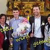 Am 27.Oktober wurde Stella, mein Enkerl Nr. 6, in Gasenried (Gemeinde St.Niklaus) im Mattertal (Wallis) getauft. Im Bild Vater Hans mit Stella, Mutter Dominique ganz rechts und die beiden Trauzeugen Lucy und Michael.