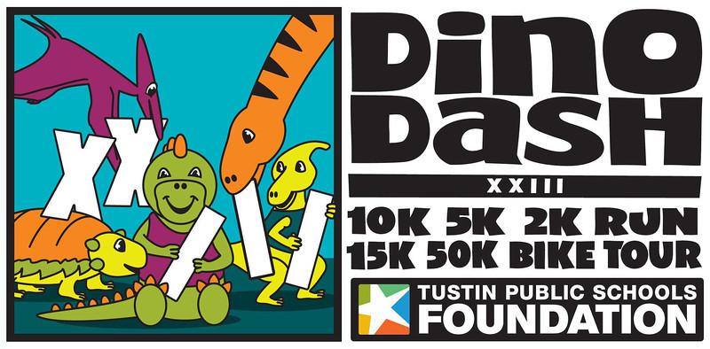 DINO DASH 2013 XXIII LOGO