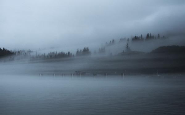 Foggy days in Valdez