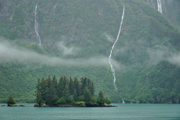 Waterfalls into the Sound