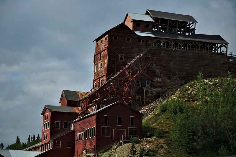 We spent some time wandering around the old copper mines and mills.