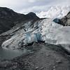 The terminus of the Worthington Glacier at Thompson Pass.