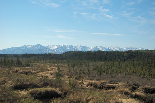 Alaska Range from near Healy