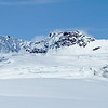 Just another beautiful day in the Alaska Range<br /> <br /> Peaks in the Trinity Basin between the Black Rapids and Susitna Glaciers