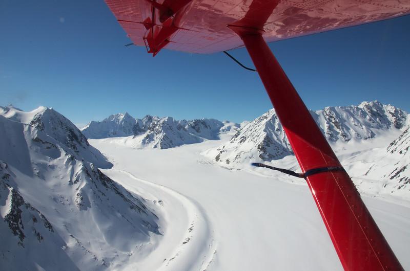 Flying over the Loket Tributary