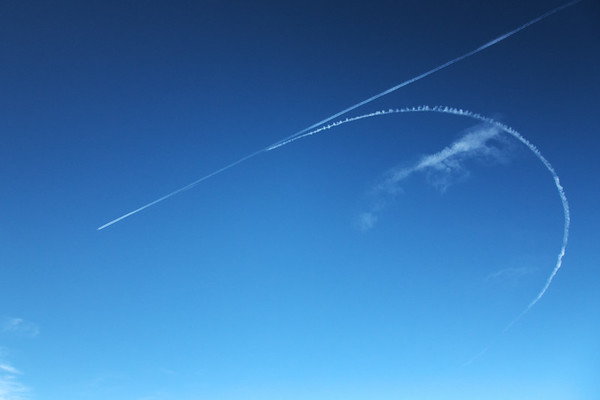 Jets refueling over the Alaska Range