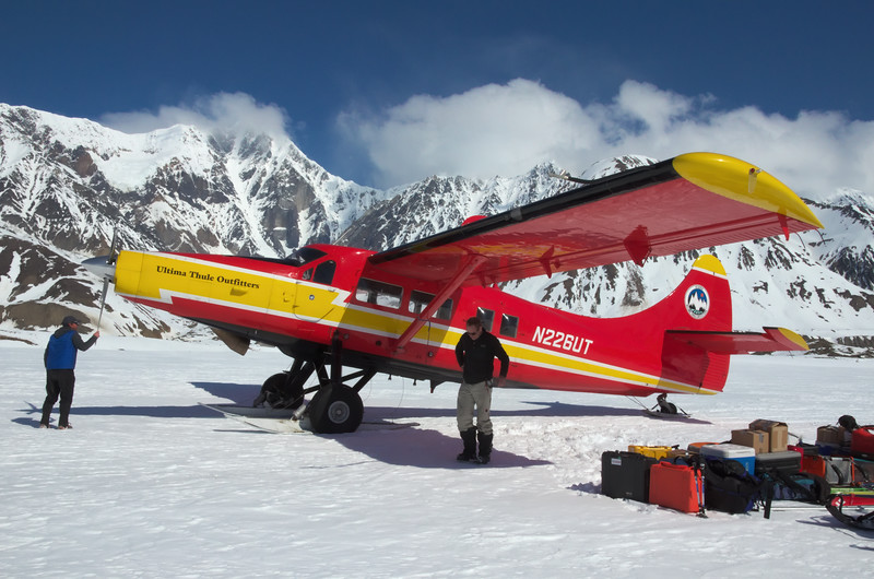 The  Turbine Otter and McGinnis Peak. First unload: April 2012.