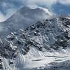 High peaks in the Alaska Range - Meteor Peak in the center