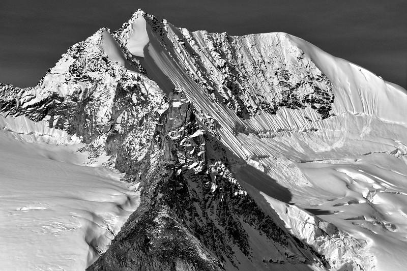 High in the Alaska Range