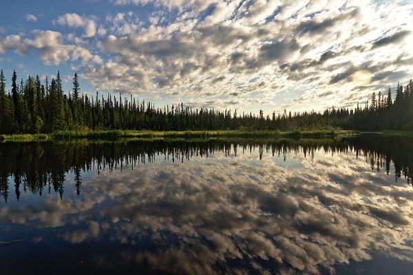 Ballaine Lake Clouds
