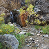 Small waterfall above the Savage River in Denali National Park.