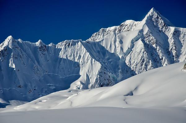 Blue Skies in the Alaska Range