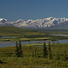 Looking over the Susitna River near the Denali Highway.