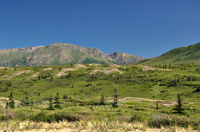Drive down Richardson - Dayhike by Canwell Glacier | 2013-07-13