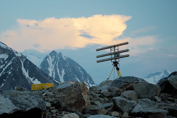 Radar in the evening.